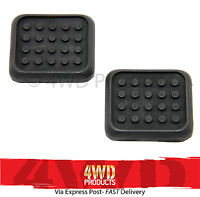 Brake/Clutch Pedal Pad SET for Mitsubishi Pajero NA NB NC ND NE NF NG (83-91)