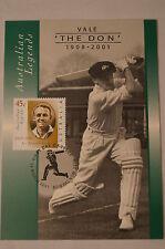 DON BRADMAN - Australian Legends - Maximum Card - In Action - England Tour 1948.