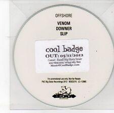 (DS980) Offshore, Venom / Downer / Slip - 2012 DJ CD
