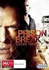 Prison Break: Season 3 - DVD, 2008, 4-Disc Set (NEW & SEALED) Aus Region 4