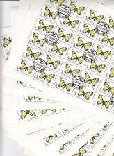 CCCP URSS 30 feuilles Faune Papillons 5 k 1986