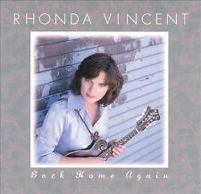 * RHONDA VINCENT - Back Home Again  CD