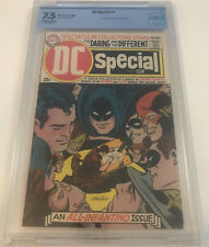 DC SPECIAL #1 CBCS 7.5 not CGC 1968 **ALL-INFANTINO ISSUE!**
