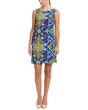 Alice & Trixie 100% Silk Chelsea Tibetan Tribal Print Dress $286  Size M NEW