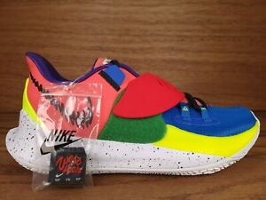 Nike Kyrie Low 3 NY vs. NY CJ1286-800 MAGIC EMBER Blue Red Pink Yellow Size 10