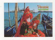 Venezia Carnevale Postcard Italy 560a