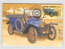 S. TOME MK Voiture Oldtimer Delage 1910 VOITURE CARS CARTE MAXIMUM CARD MC cm m255