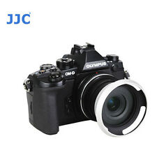 JJC Lens Hood Z-014-42II Fr Olympus Zuiko ED EZ 14-42mm Panasonic 12-32mm Silver