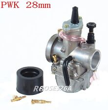 New Kawasaki KX80 KX85 KX100 KX125 Carburetor & Intake Boot Needle Jet PWK 28mm