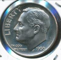 United States, 1966-SMS Roosevelt Dime 10c - Choice Uncirculated