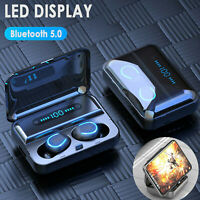 Bluetooth 5.0 Headset TWS Wireless Earphones Mini Stereo Headphones Earbuds 2020