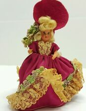 Vintage Tiny Plastic Doll Southern Belle
