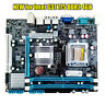 NEW for Intel G31 Socket LGA775 MicroATX Computer Motherboard DDR2 4GB Mainboard