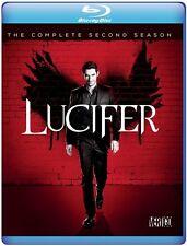 LUCIFER - COMPLETE SEASON 2  -  Blu Ray - Sealed Region free