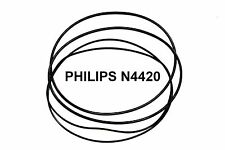 COURROIES SET PHILIPS N4420 MAGNETOPHONE A BANDE EXTRA FORT NEUF FABRIQUE N 442O