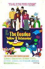 YELLOW SUBMARINE (DVD) FANTASY ADVENTURE BEATLES BLUE MEANIES!