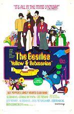 YELLOW SUBMARINE (DVD) FANTASY ADVENTURE BEATLES BLUE MEANIES!