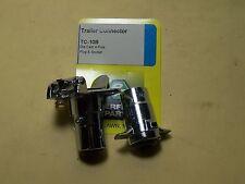 Trailer Connector - Weatherproof - 4 pole Die Cast plug & socket