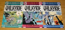 Ring of the Nibelung Book Two: the Valkyrie #1-3 complete series PCR set lot 2
