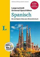 Langenscheidt Universal-Sprachführer Spanisch: Die wicht... | Buch | Zustand gut