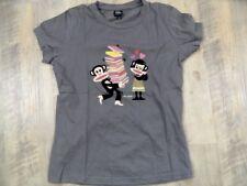 Paul Frank beau t-shirt Jules Gris Taille S Top rc1017