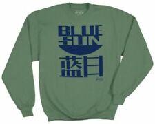 Serenity / Firefly Sweatshirt, Blue Sun Logo, Olive, Size Large