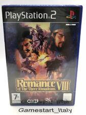 ROMANCE OF THE THREE KINGDOMS VIII - PS2 - VIDEOGIOCO NUOVO SIGILLATO - NEW PAL
