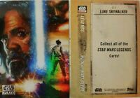 Star Wars - Galaxy 2018 - Legends - Chase Card # C-1 - Topps 2018 - NM