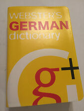 WEBSTER'S (GEM STYLE) ENGLISH To GERMAN To ENGLISH POCKET DICTIONARY NEW