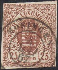 Used Single Luxembourg Stamps