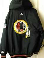 Vintage Starter Washington Redskins Puffy NFL Jacket Men's  medium