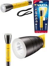 Varta LED Outdoor Sports Flashlight 2AA - Cree 5W High Performance LED With 2 -