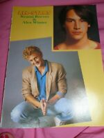 Alex Winter of The Lost Boys pin up clipping Keanu Reeves The Party band Damon