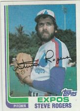 FREE SHIPPING-MINT-1982 Topps Montreal Expos Baseball Card #605 Steve Rogers