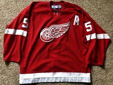 Authentic On Ice Nicklas Lidstrom Red Wings Jersey Reebok 00004000