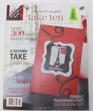The Stampers Sampler Take Ten The Art Of Rubber Stamping Back Issue Summer 2010