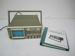 Iwatsu Electric Japan SS-7611 Oscilloscope 4 Channel 100MHz As Is