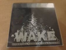 """Wake Surrounded By Human Filth Vinyl 7"""" Record! canadian grindcore extreme metal"""