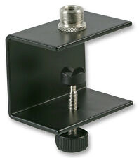 Microphone Table Clamp suitable for lectern, pulpit, desk mount - 43mm capacity