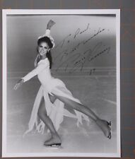 PEGGY FLEMING Signed inscribed Photo Olympic Gold medalist figure dancer