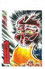 SCROLL DEMON Tattoo Flash Japanese print 9 Horineko COLOR ART asian