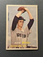 1957 Topps #56 Dave Sisler Rookie Boston Red Sox EX