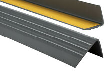 Treppenkantenprofil PVC Selbstklebend 50x40mm Kantenschutz 70-200cm Treppenkante
