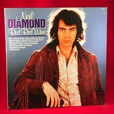 Neil Diamond rouge, vin rouge - 1988 UK vinyl LP excellent état un