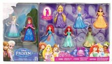 Disney Princess MAGICLIP Dolls 8 Pack Set AND Moana Adventure Canoe Set Rare HTF