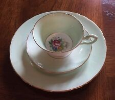 Tuscan Fine English Bone China Tea Cup, Saucer, desert plate EUC