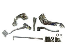 Chrome Further Forward Mid-Control Kit For Harley-Davidson Sportster
