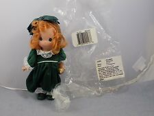 2007 March Precious Moments Monthly Moment Vinyl Doll Irish Green