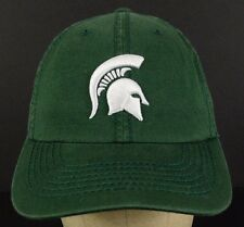 Michigan State University Spartans Green Baseball Hat Cap Adjustable 6 1/2 - 7/8