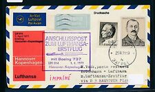 95485) LH FF Hannover - Kopenhagen 1.4.71, SoU ab Jugoslawien